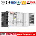 Generador diesel del motor de 750kVA / 600kw CUMMINS con insonoro (envase 20'ft)
