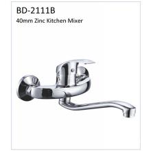 Bd2111b 40mm Zinc Wall Mounted Kitchen Faucet