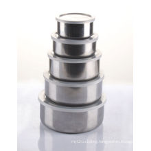 10-18cm Stainless Steel Bowl with PP Lid