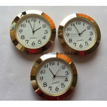 Werbeartikel Analog Quartz Mini Metall Uhr Einsätze mit benutzerdefinierten Logo