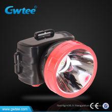 Tête de lampe à LED rechargeable 1.5w