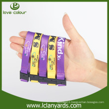 Polyester custom fashion detachable sports wristbands