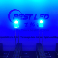 3mm 450nm 455nm 460nm blaue LED 80 Grad