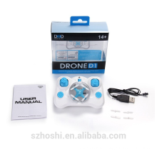 Hot Sale Ultra MINI D1 Quadcopter 4CH 2.4G 6 Axis Gyro RC Drone Mode 2 RC Helicopter