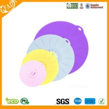 Silicone Material high quality silicone lid spill