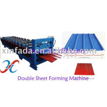Doppelte Blechumformmaschine