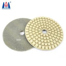 180mm wet 7 inch diamond polishing pad for stone polishing