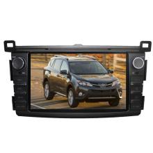 Ajuste de 2DIN coches reproductor de DVD para Toyota RAV4 2013 2014 2015 con Radio Bluetooth TV estéreo sistema de navegación GPS