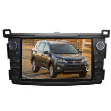 2DIN Car DVD Player Fit for Toyota RAV4 2013 2014 2015 with Radio Bluetooth TV Stereo GPS Navigation System