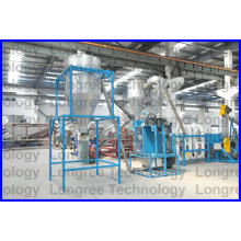 Pet Bottle Flakes Recycling Machine / Waste Bottle Bottle Washing Line