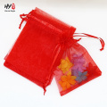 Multi-purpose plain exquisite organza bag