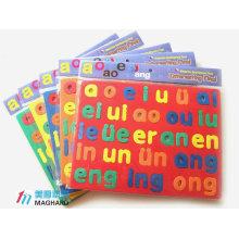 Funny eva foam magnetic alphabet puzzle toy