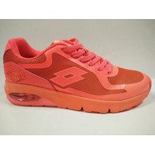 Hot Sell Orange Air Cushion Flat Footwear for Woman