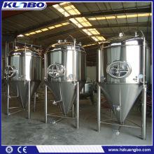 équipement de bière de brasserie pour les petites entreprises à la maison / vente chaude fabricant de fermenteurs de bière haute qualité / équipement de brassage de bière