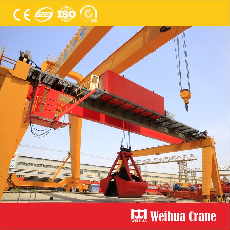 Furnace Slag Grab Crane