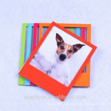 2015 hot selling colored magnetic photo frame