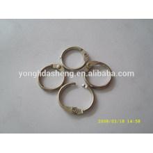 Aleación de zinc de alta calidad práctica moldeado anillo de metal fundido