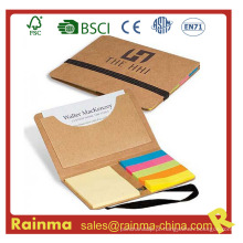 Eco Memo Pad com cartão de nome de bolso