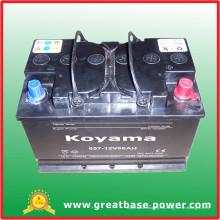 Batería seca 657-12V66AH para Sudáfrica