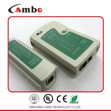 Китай Поставщик тестер кабеля rs485 Используется для тестирования различных конфигураций штырей, таких как USOC 4, USOC 6 и USOC 8