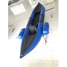 Caiaque inflável (único barco)