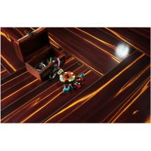 Plancher laminé absorbant le bruit de cerise de miroir de 12.3mm