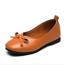 Оптовая кожа PU повседневная детская узелок прогулки дети мокасины обувь