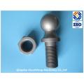 Peça de usinagem CNC para Trailer Ball by Forging