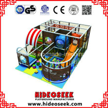 Pirate Ship Style Indoor Soft Play Ground Equipment for Children