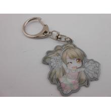 Reizende Karikatur-Schlüsselkette, unregelmäßiger Schlüsselring (GZHY-KA-015)