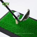 Mini artificial grass golf hitting mat & rubber putting mat & Swing mat