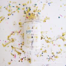 Banquete de boda de la fábrica Popper Mini confeti Push Pop Contenedores para la venta