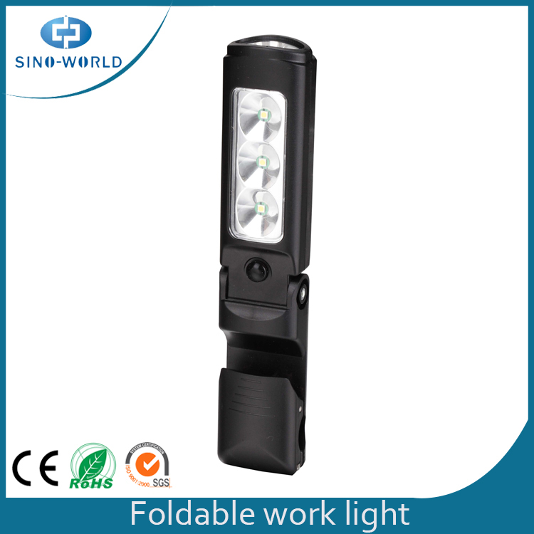 Led Work Light With Clip