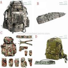 Military/camping bags