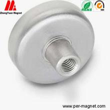 N38 NdFeB постоянный магнитный штырь с покрытием Zn