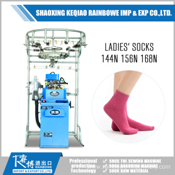 Europe style for Single Cylinder Sock Knitting Magic Fashion Lady Sock Knitting Machine Price supply to United States Minor Outlying Islands Factories