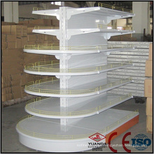 ISO Standard Round Cosmetics Display Shelf for Any Retail Store