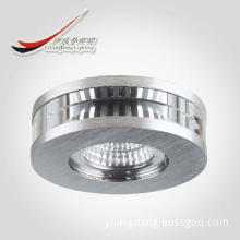 high quality brushed aluminium ceiling mounted spot light/ MR16, CE CB