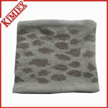 Acrylic Jacquard Neck Warmer with Fleece Lining
