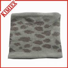 Aquecedor de pescoço jacquard acrílico com forro de lã