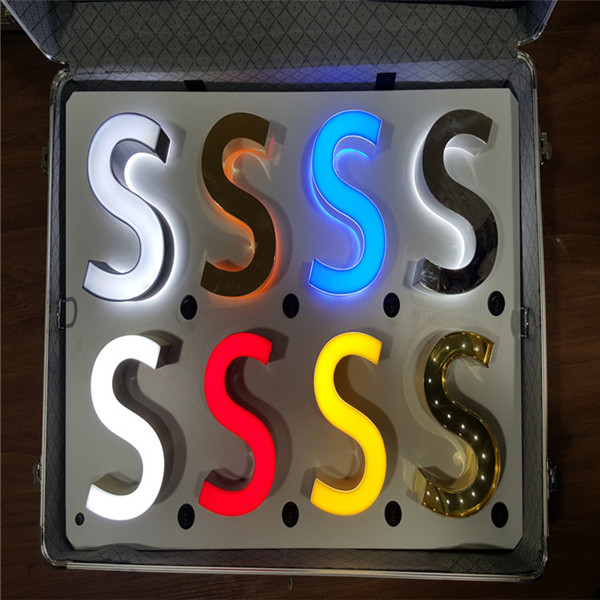 Hot Sales High Quality Light Up Letters Signs