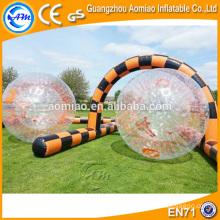 Ballon de hamster pour bébés humains taille enfant / piste de balle gonflable zorb