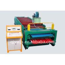 QJ 860-850 máquina de telha automática de dupla camada