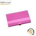 Sonderangebot Metall Pink Name Kartenhalter mit hoher Qualität