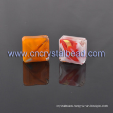 Wholesales Crystal Bead Loose Square Glass Beads