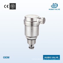 """Brass Exhaust Valve with Size 3/8′′-1/2"""" Inch"""