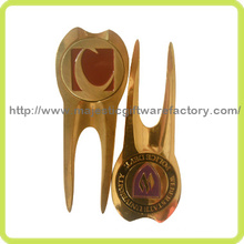 Gold Plating Customized Golf Divot Tool