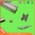 Personalizado de plástico de aluminio marco plástico de protección de la cubierta de plástico Cap-Fin