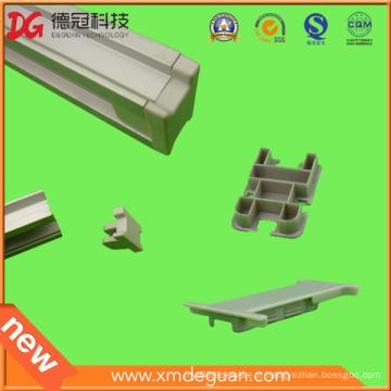 Support de support en aluminium solaire personnalisé Capuchon de protection en plastique