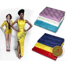 African Bazin Riche, para la tela de algodón textil, textiles de algodón Brocade Clothing Fabric